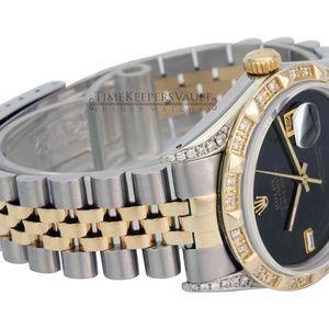 Rolex Accessories - Rolex Mens Datejust 36mm Diamond Watch